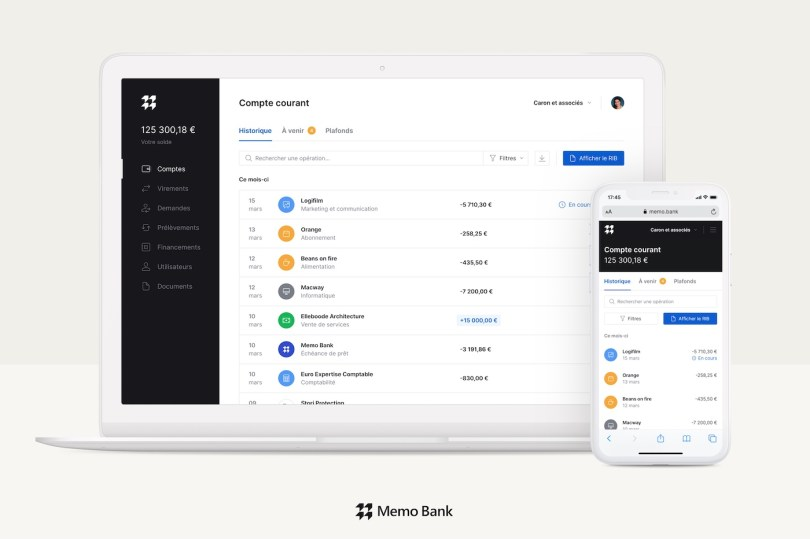 Memo Bank application