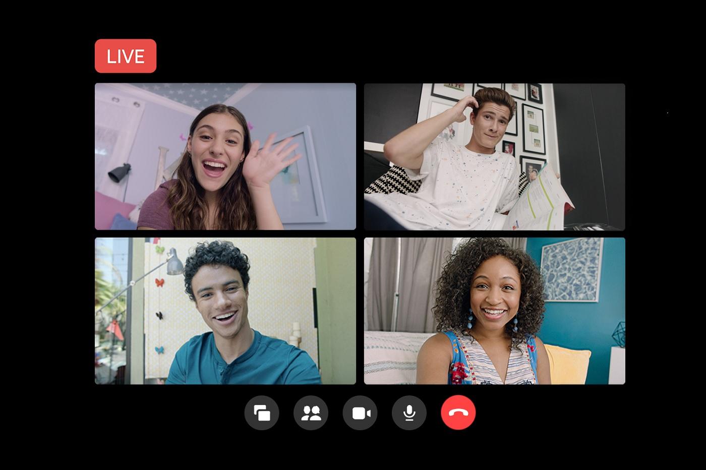 Revue du web Messenger Rooms vous permet de diffuser les conversations sur ...