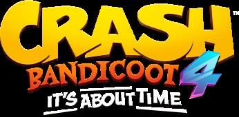 Logo Crash Bandicoot 4 It's About Time