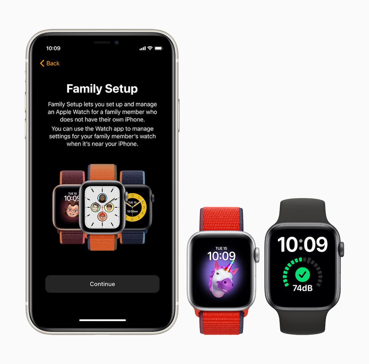 Apple Watch SE Family Setup
