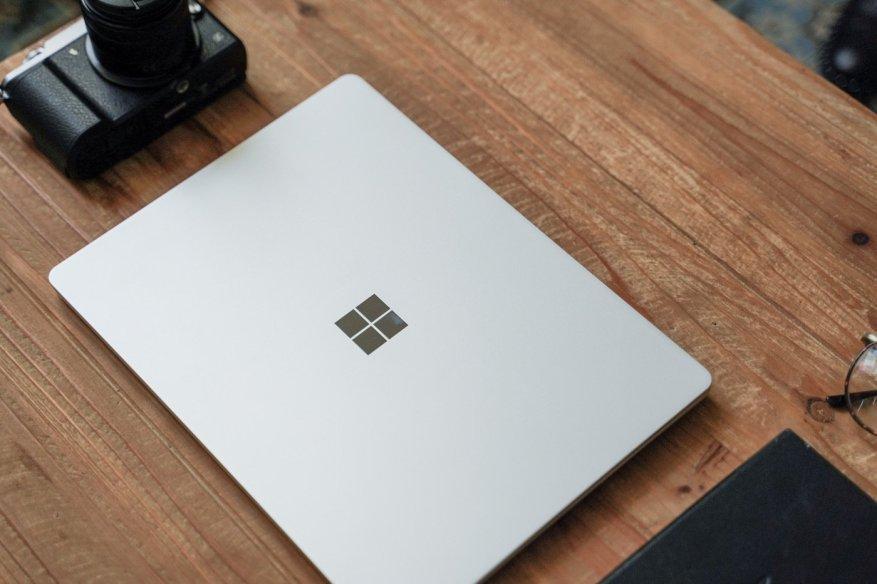 test microsoft surface laptop go ferme
