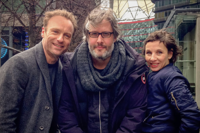 """Parallel zur Berlinale laufen seit 14. Februar 2017 Dreharbeiten für den neuen """"Tatort"""" des Rundfunk Berlin-Brandenburg (rbb) mit dem Titel """"meta"""". Regie führt Sebastian Marka, das Drehbuch schrieb Erol Yesilkaya."""