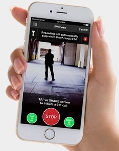 "App ""iWitness"" macht Handy zum Augenzeugen Im Idealfall wird Angreifer abgeschreckt, noch bevor etwas passiert"