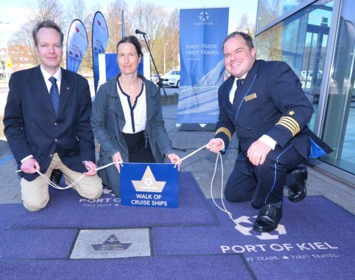 AIDAcara eröffnet die Kieler Kreuzfahrtsaison - Mit erstmalig vier Schiffen ist die AIDA Flotte insgesamt 52-mal zu Besuch