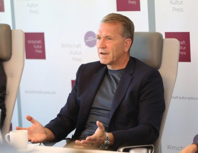 Wirtschaft.Kultur.Preis 2017: Pressekonferenz mit Bundestorwarttrainer Andreas Köpke