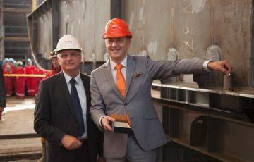 Beginn des nächsten Bauabschnitts: HANSEATIC nature auf Kiel gelegt