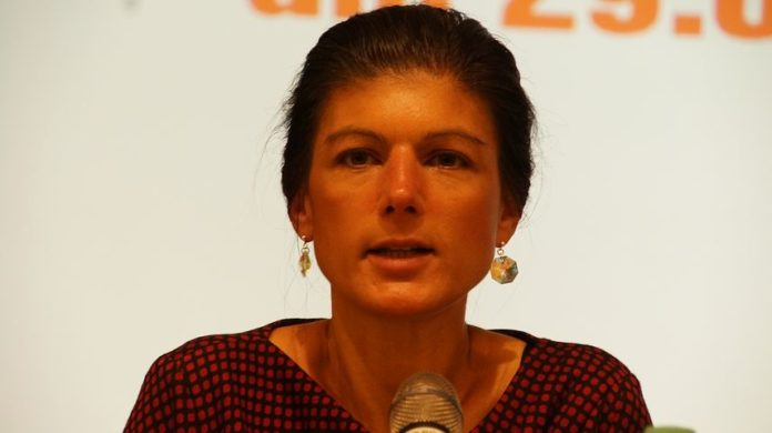 """Sahra Wagenknecht (Die Linke): """"Wir werden uns nicht aufgeben für eine Regierung"""""""
