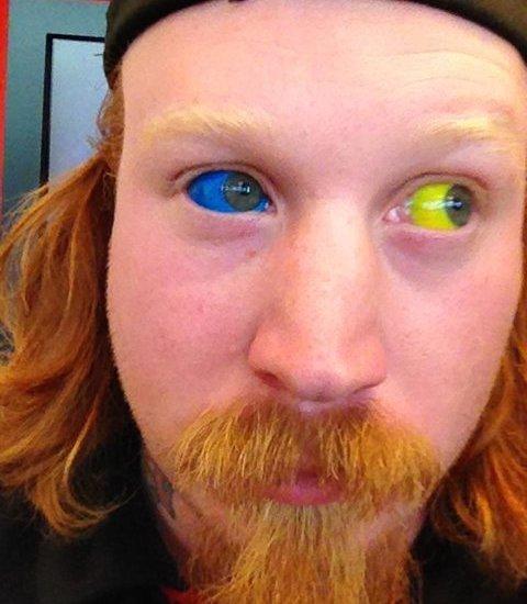 Augen Tattoo