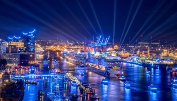Hamburg Cruise Days, Bild, Schifffahrt, MSC Preziosa, Kreuzfahrt, EUROPA 2, Tourismus, Panorama, Tourismus / Urlaub, AIDAprima, Norwegian Jade, Hamburg