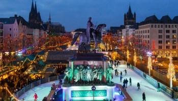 Tourismus, Bild, Tourismus / Urlaub, Freizeit, Weihnachten, Panorama, Gastgewerbe, Unterhaltung, #Köln