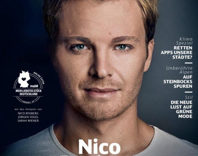 Formel 1, DB MOBIL, Bild, Nico Rosberg, Celebrities, Verbrennungsmotoren, Grüne Ausgabe, Panorama, People, Interview, Hamburg