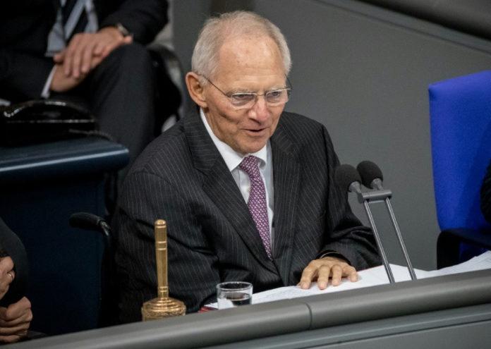 Wolfgang Schäuble ,Politik,Jamaika-Verhandlungen,Frank-Walter Steinmeier,Berlin