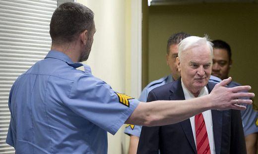 Schuldspruch,News,General Ratko Mladic,Haft,Balkankrieges,Den Haag