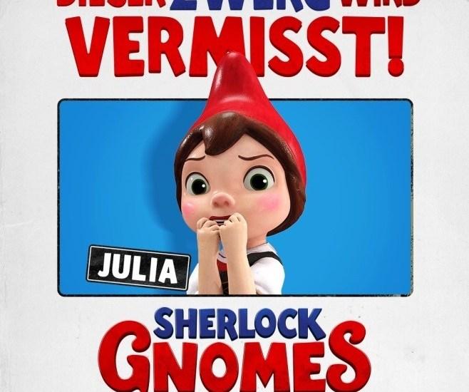 Die Zwerge, sie sind alle weg,#SherlockGnomes,Film,Freizeit,Unterhaltung,Medien
