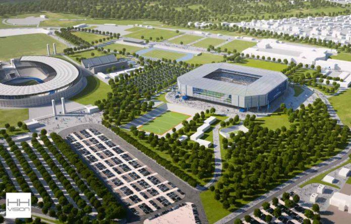 Hertha,Berlin, Sport, Fußball,Olympiastadion,