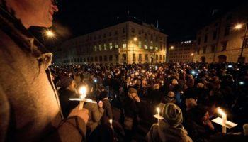 Wien,Lichterkette,Politik,News,Sebastian Kurz