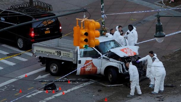 Nachrichten,Ausland ,Terrorismus,Terroranschlag,New York,Kleinlaster