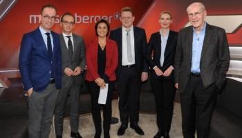 Nachrichten, Politik, Deutschland, Alternative für Deutschland, Alice Weidel, Henriette Reker, Heiko Maas, Flüchtlinge, ARD, Sandra Maischberger, SPD, Bürgermeister