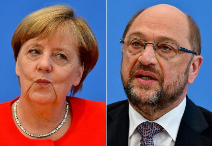 Angela Merkel,Martin Schulz,Berlin, Politik,SPD,CDU,Berlin