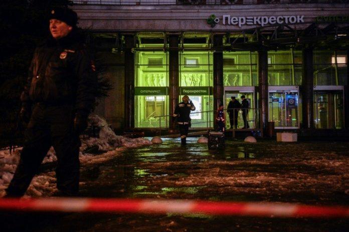 St. Petersburg,News,Perekrjostok, Bombe,