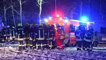 Nachrichten, Panorama, Katastrophen und Unglücke, Ravensburg, Baden-Württemberg, Polizei, Flugzeugabsturz, Unfälle