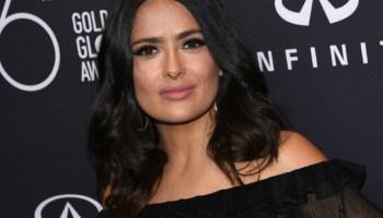 Salma Hayek,Harvey Weinstein,Monster,News, People