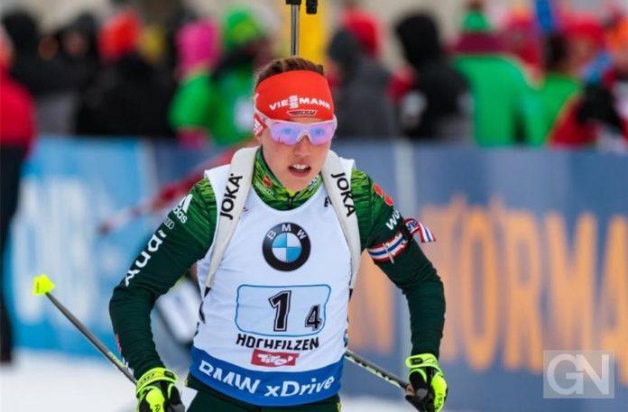 Biathlon, Sport, Wintersport, Weltcup, Frankreich,Laura Dahlmeier,Le Grand-Bornand,