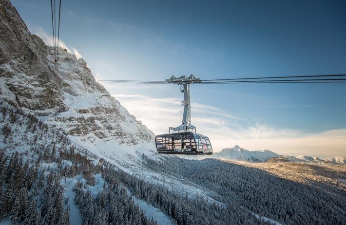 Seilbahn, #Zugspitze, Bild, Rekord, Tourismus, Bahn, Tourismus / Urlaub, Panorama, Garmisch-Partenkirchen
