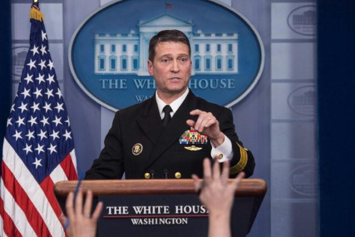 Präsident ,Donald Trump,News,Gesundheit,Ronny Jackson,Weißen Haus,Washington