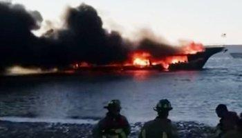Florida,News,Sun Cruz Casino,Port Richey Kanal,Feuer