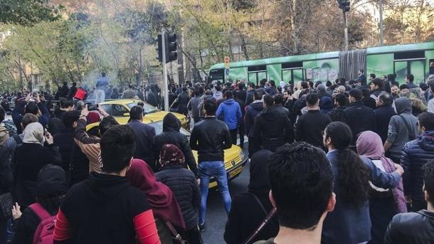 Nachrichten, Ausland, Konflikte, Demonstrationen, Iran ,Hassan Ruhani,Dorud,Donald Trump