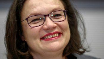 SPD,News,Politik,Andrea Nahles,Partei,Berlin