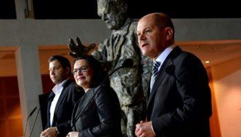 News,Politik,Hannover,SPD,#Groko,Hamburg , Andrea Nahles,Koalitionsvertrag