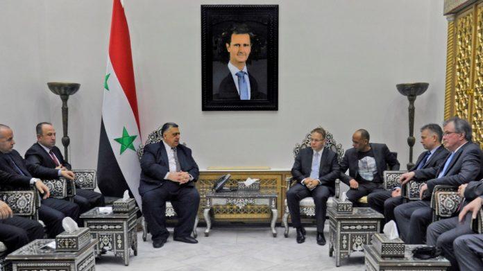 Syrien-Reise ,AfD,Politik,News,Baschar al-Assad,CDU