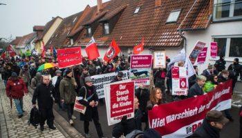 Gesellschaft, Politik, Bild, Mein Kandel ist bunt, Demonstration, Rheinland-Pfalz
