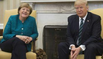 Besuch bei Trump,Bundeskanzlerin, Angela Merkel,Präsident ,Donald Trump ,Washington,Politik,Nachrichten