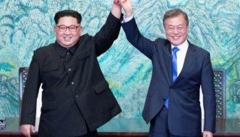 Kim und Moon ,Außenpolitik,Ausland,Südkorea,Nordkorea,Präsident, Moon Jae In,Kim Jong Un