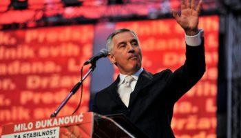 Milo Djukanovic,Wahlen,Außenpolitik,Ausland,Montenegro