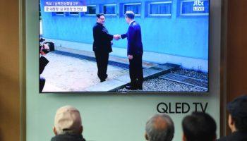 Gipfeltreffen ,,Kim Jong Un,Präsident, Moon Jae,Demarkationslinie ,Nachrichten,Ausland,Außenpolitik