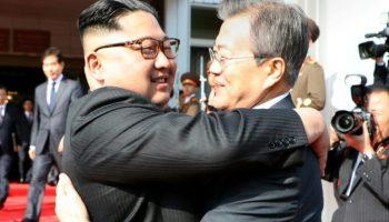 Nordkorea,Südkorea,Kim Jong Un,Präsident ,Moon Jae,Politik,Nachrichten,Nord- und Südkorea