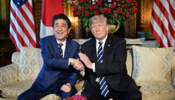 Abrüstung Nordkoreas,Trump,Abe,Politik,Nachrichten,Ausland,Präsident ,Donald Trump,Shinzo Abe, Atom-, Chemie,Waffen