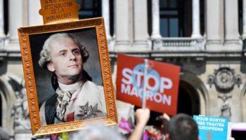 Demonstationen gegen Macron,Präsident ,Emmanuel Macron,Ausland,Außenpolitik,Nachrichten,News,Paris,Frankreich