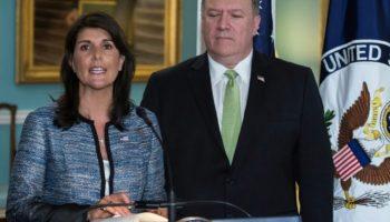 USA,UN-Menschenrechtsrat ,Nikki Haley,,Washington,Israel, Mike Pompeo, Mexiko