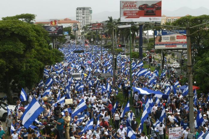 Demonstrationen in Nicaragua,,Nicaragua,Ausland,Nachrichten,Präsident ,Daniel Ortega, Bischofskonferenz