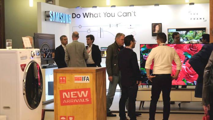 IFA-Technik-Highlights,IFA Innovations Media Briefing 2018,TV-Technologien, künstliche Intelligenz, smarte Küchengeräte ,IFA,IFA2018,Berlin,Innovation,News