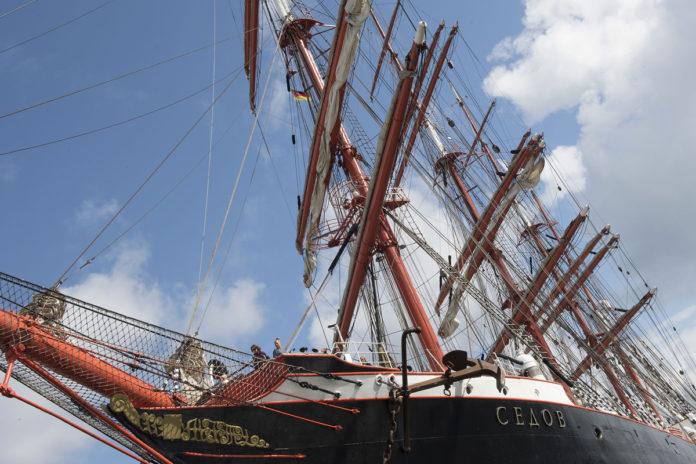 ,28. Hanse Sail Rostock,Rostock,Schiff,Warnemünde,Open-Ship