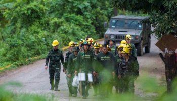 Alle 13 Eingeschlossenen,Höhle in Thailand,Thailand ,Nachrichten,Ausland,Navy Seal,Chiang Rai, Passakorn Boonyaluck,schächte zu Kindern