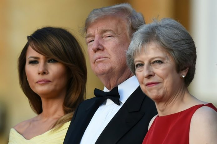 Präsident, Donald Trump, Großbritannien,Brexit,Theresa May ,Washington,Handelsabkommen,Handel,Außenpolitik,Ausland,Trump kritisiert May