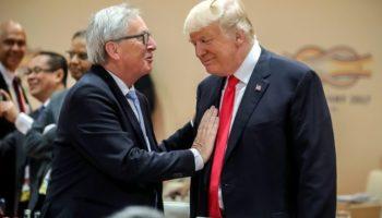 Jean-Claude ,Präsident ,Donald Trump ,Außenpolitik,Nachrichten,Handelsstreit,Trump und Juncker,Weiße Haus