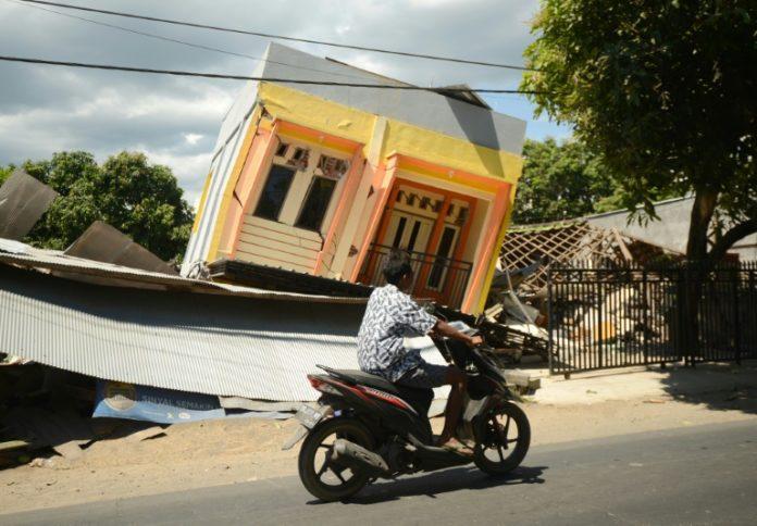 Erdbeben in Indonesien,Lombok, Agung Pramuja,,Nachrichten,Ausland,Indonesien,Erdbeben, Sumbawa